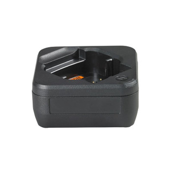 Motorola PMLN7140 DLR Single-Unit Charger with Power Supply is great for charging the battery by itself or while inside the radio. Works with DLR series of Motorola radios like the DLR 1020 and the DLR 1060 models.