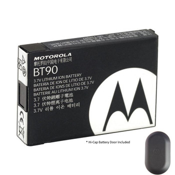 The HKNN4013 from Motorola is a high-capacity 1800mAh Li-ion battery designed for CLP-series (Includes: Hi Cap Battery Door Cover). It provides up to 18 hours of use. (5/5/90)