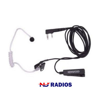 The Kenwood KHS-8BL black with clear tube surveillance kit is designed for discrete communication and is high grade.