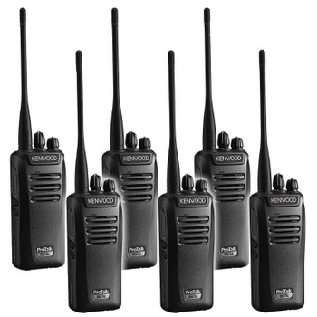 The NX-340U16P offers a high level of security in analog mode is a 16-code voice inversion scrambler, while robust NXDN® encryption is available with 32,767 selectable digital modes.  Get your Six Pack of the top tier radios today!