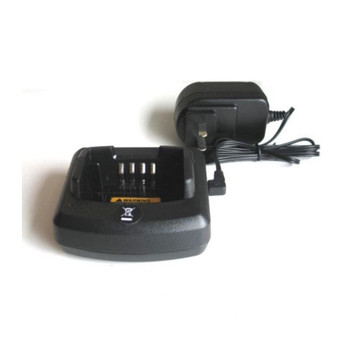 This Motorola RLN-6304 single unit, rapid rate desk charger ensure your radio is charged and ready when you are. It charges the RDX Radio in 2 hours and its compact design allows you to place it virtually anywhere.