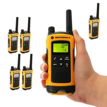 Motorola Talkabout T402 Two-Way Radios Weatherproof PTT IVOX Eco Smart Walkie Talkies 6-PACK. ... Go Outdoors - Talkabout T400. ... The Talkabout T400 is perfect for your outdoor excursions as well as life's everyday adventures.