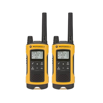 From wilderness adventures to hunting and emergency preparedness, the Motorola Talkabout T402 Series radios are perfect for sports and outdoor enthusiasts.