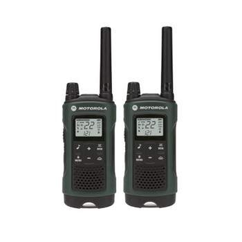 Talkabout T465 FRS/GMRS 2-Way Radios in Green Six Pack