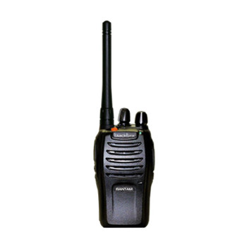 Blackbox Bantam series radio is a high quality rugged item in a small package. The Bantam is a compact full powered 16 channel radio. This rugged UHF radio is has an Alarm Button on top will send a signal to a partner on the same channel so the partner receives an alarm tone indicating an emergency.