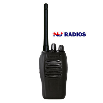 Black Box Bantam two way radio that delivers commercial and worker safety benefits for mission critical users. Two Way Radios give you a powerful combination of flexibility, control and resiliency.