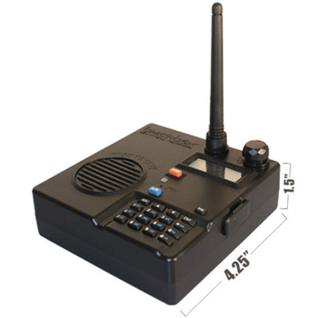 The new Blackbox Desktop Base Station is great for the office to work area communication! Small and powerful at 4 watts. Up to 128 channels in either UHF or VHF ranges. Large built-in push-to-talk button makes installation both clean and effective.