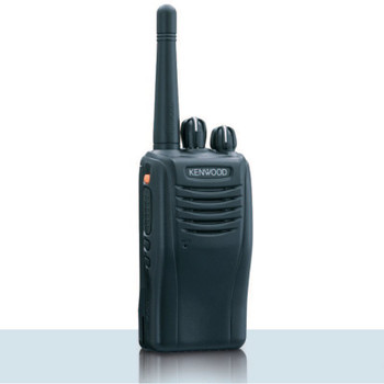 This Kenwood with 5 Watts is powerful. The  TK-2360ISV16P ProTalk two-way business portable radio with 16 channels, is ideal for communications in construction, manufacturing, oil rigs and other hazardous locations.  This model is Intrinsically Safe.  VHF outdoor only radio.