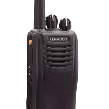 Kenwood TK-2360ISV16P two way radio offers 16 channels, has 5 watts of power and coverage for up to 330,000 square feet or up to 5-7 miles on open, flat terrain.  VHF outdoor only radio.