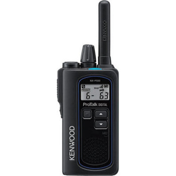 Small Profile, Powerful Performance by the NEXEDGE NX-P500 Digital / Analog Two Way Radio.  A lightweight and compact body (approx. 5.64oz), with a slim and comfortable design. Powerful 2W maximum transmission output makes for easy reception, even in open spaces.