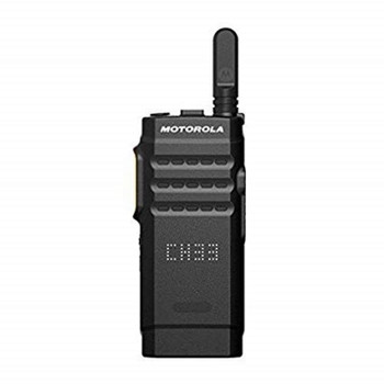 Motorola SL-300 Portable 2-Way Hybrid DMR gets you all the benefits of digital, including better voice quality, better range and better battery life.