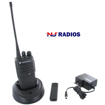 Over long stretches, short distances, or through building walls and floors, the Motorola CP200D two-way radio is designed to provide reliable and trouble-free performance.