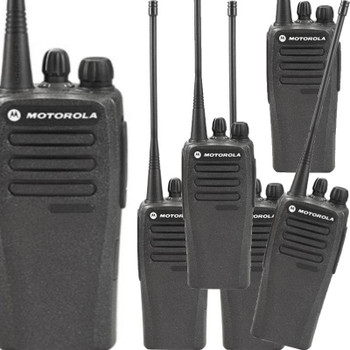 Motorola CP-200d Six Pack of DMR Programmable Hybrid (Analog / Digital ) Portable Professional Radio for your commercial needs.