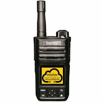 Communicate At The Touch Of A Button With The Blackbox BBGR Rugged Two-way Radio. Nationwide LTE Cellular Coverage