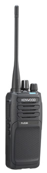 This Kenwood with 5 Watts is powerful. The NXP1200AVK ProTalk two-way VHF business portable radio with 64 channels, is ideal for communications in construction, manufacturing, farms, outdoor venue's and open terrain.