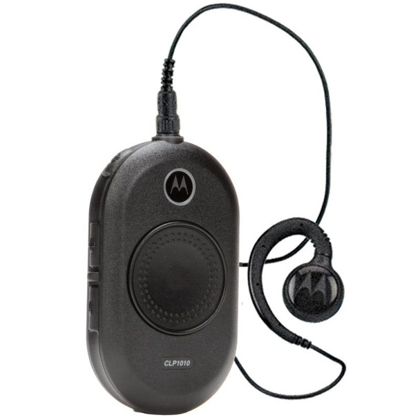 Motorola CLP1010 - UHF 1 Watt 1 Channel Radio with included Headset. Lowest Prices and Fast Shipping on all Motorola CLP1010 with Headset. Perfect for Restaurants, Medical Offices, Retail, Schools and more.