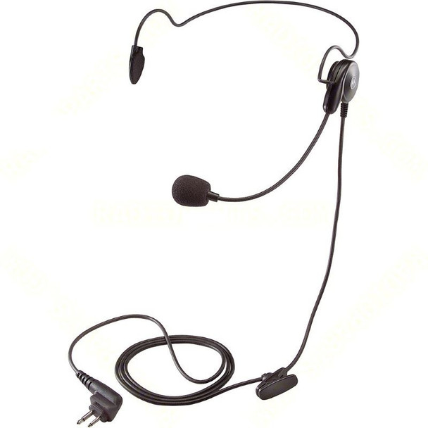 The Motorola 53815 is an ultra-lightweight headset with a boom microphone - ideal for noisy areas or to avoid disturbing bystanders. The unit is hands-free (VOX) compatible. Compatible with CLS, DLR, DTR, RMx and RDx series Two Way Radios.