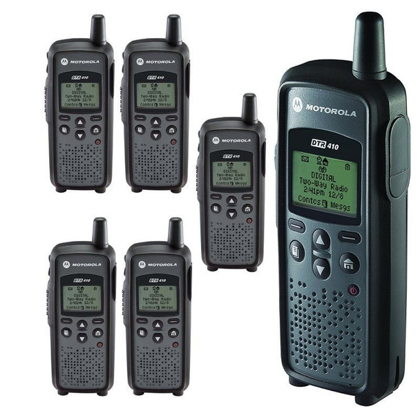 Can you say Privacy - this DTR410 Six Pack provides interference free and private communications, making it virtually impossible for anyone to hear your conversation, except for the intended audience.