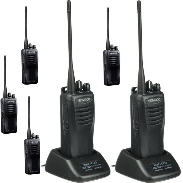 The Kenwood TK-Series is one of the best-built and most fully featured UHF radios on the market, get your Kenwood TK 3400U4P UHF ProTalk Two Way Radio Six Pack today.