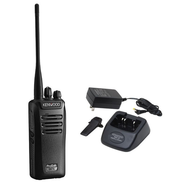 """NX-340U16P ProTalk Series offers a dynamic feature set and solid durability that you have become accustomed to, but has also been improved to offer a larger UHF """"bank"""" of frequencies, and improved louder sound."""
