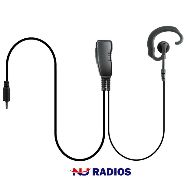 LMC-1EH-21 is an aftermarket Ear-Hook headset with clip-on microphone and includes PTT and stainless steel clip that rotates 360˚ for easy use. The straight cables are very flexible and easy to use. The high quality speaker delivers loud, crisp audio.