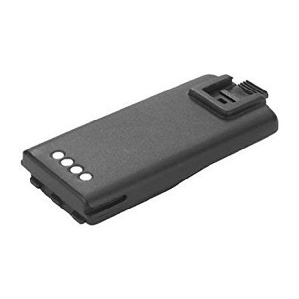 The Motorola RLN6351 lithium ion rechargeable battery replaces the standard battery included with 2 watt RDX series models. It typically provides up to 12 hours of use with a 2 watt radio and 8.5 hours of use with a 4/5 watt model.