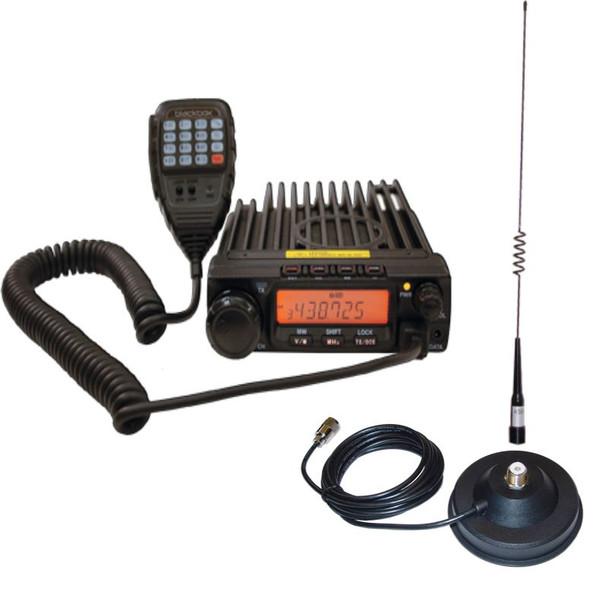 Blackbox Mobile UHF Public Safety Radio, Easy Install, 200 Channels, High power: 40w FM UHF, Field Programmability, Alpha-Numeric Display, Narrow and Wide Band option, Alarm/Stun/2-Tone/5-Tone