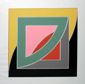 REFERENDUM '70 BY FRANK STELLA