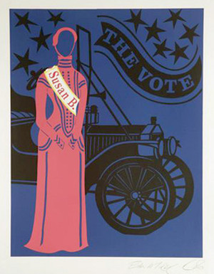 THE SUSAN B. ANTHONY BY ROBERT INDIANA