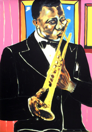 LOUIS ARMSTRONG BY FREDERICK BROWN