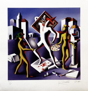 PRODUCTION SQUEEZE BY MARK KOSTABI