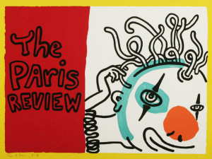 PARIS REVIEW BY KEITH HARING