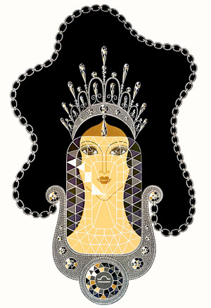 DIAMOND BY ERTE