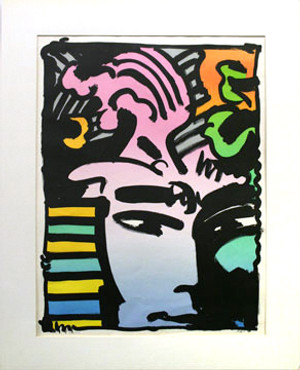 AZTEC MAN BY PETER MAX