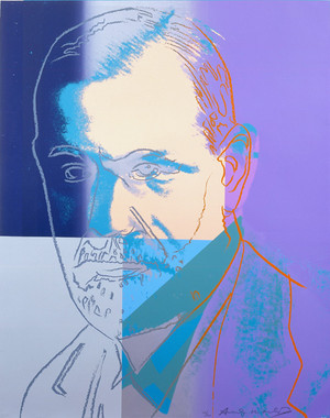 SIGMUND FREUD FS II.235 BY ANDY WARHOL