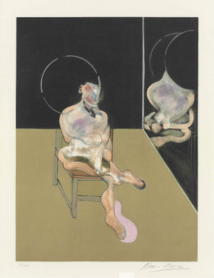 SEATED FIGURE (S.5) BY FRANCIS BACON