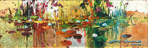 GIVERNY IN GOLD BY JAMES COLEMAN