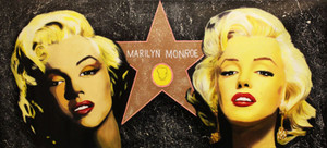 DOUBLE MARILYN - THE HOLLYWOOD STAR (GIANT)