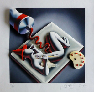 FETAL POSITION BY MARK KOSTABI