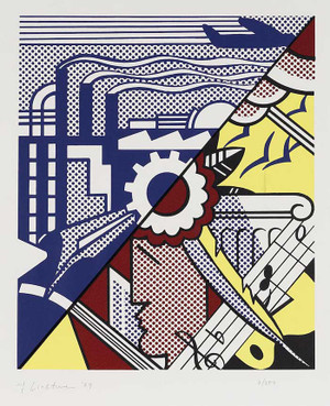 INDUSTRY AND THE ARTS II BY ROY LICHTENSTEIN