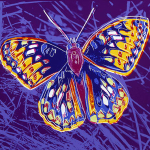 ENDANGERED SPECIES: SAN FRANCISCO SILVERSPOT FS II.298 BY ANDY WARHOL