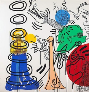 APOCALYPSE V BY KEITH HARING