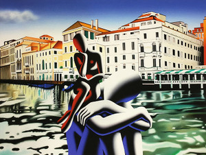 ON THE BRINK BY MARK KOSTABI