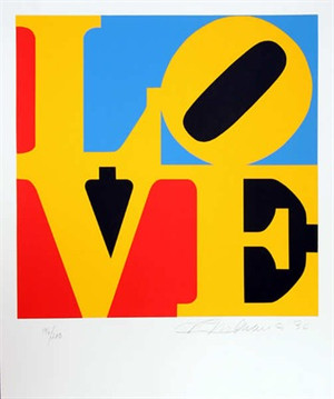 LOVE 6 BY ROBERT INDIANA