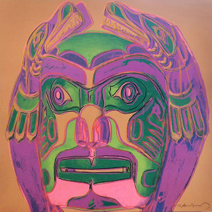 NORTHWEST COAST MASK FS II.380 -TRIAL PROOF- BY ANDY WARHOL
