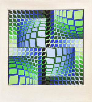THEZ BY VICTOR VASARELY