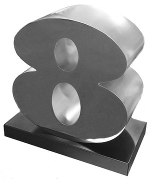 EIGHT BY ROBERT INDIANA