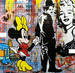 CHAPLIN/MINNIE BY JOZZA
