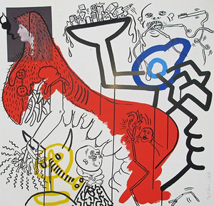APOCALYPSE IV BY KEITH HARING