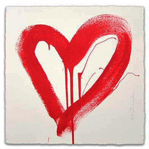 LOVE HEART (RED) BY MR. BRAINWASH